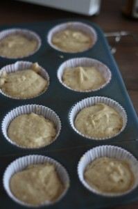 Nieupieczone muffiny