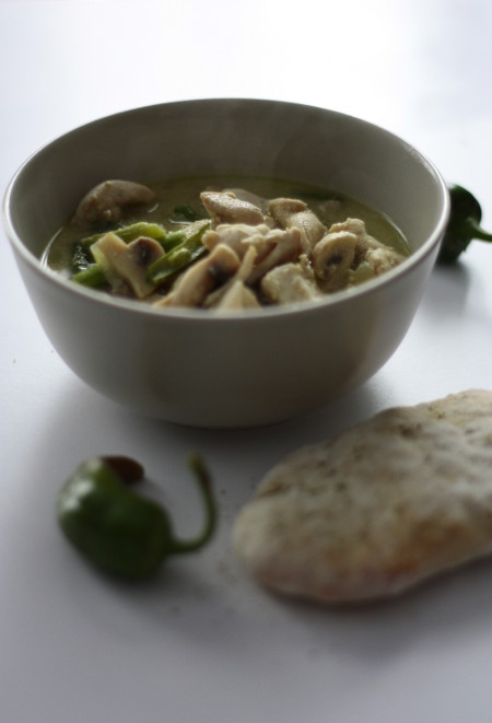 Zielone Curry Z Kurczakiem Po Tajsku Wilczy Apetyt
