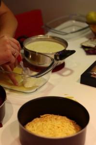 Nakładanie warstw lasagne