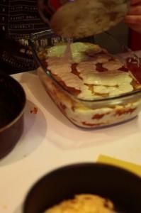 Przygotowanie lasagne