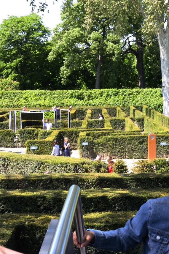 Labirynt w ogrodach Schönbrunn