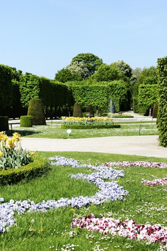 Rabata w ogrodach Schönbrunn