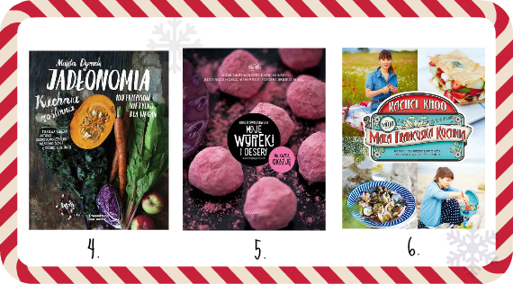 Pomysł na prezent świąteczny - 3 książki kucharskie