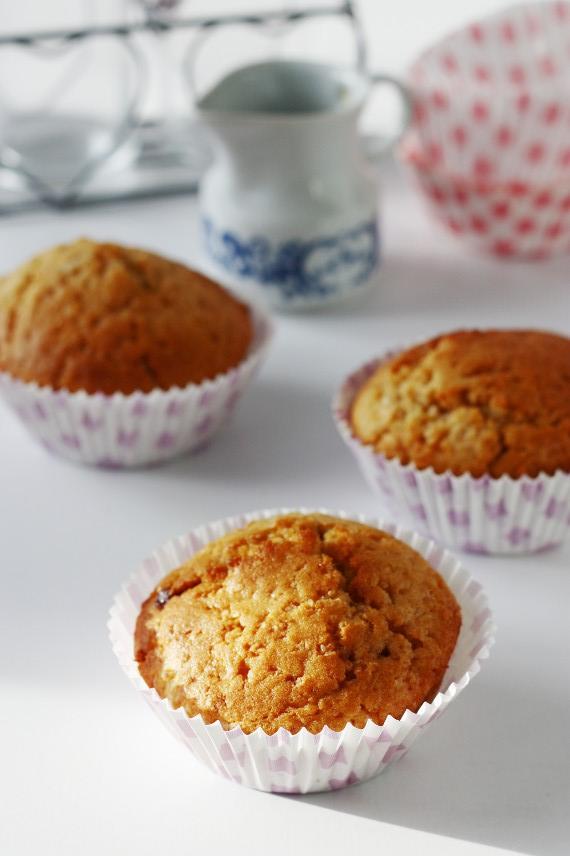 Muffinki z krówką