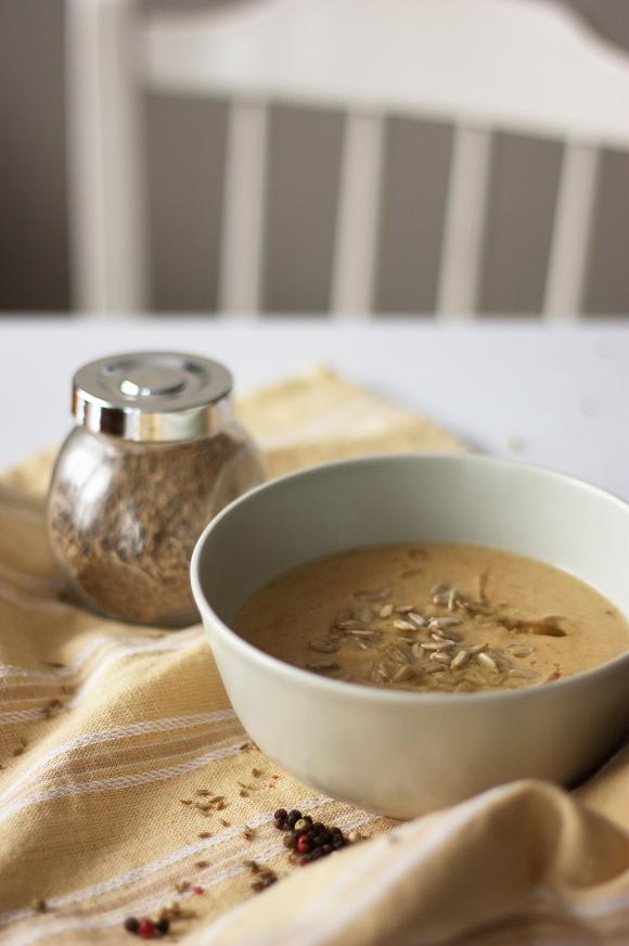zupa - krem z pieczonego kalafiora