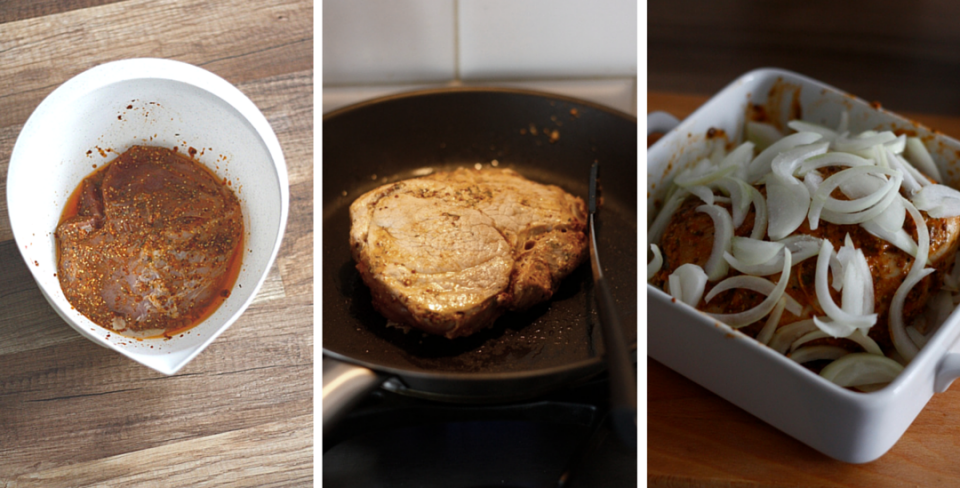 Proces przygotowania szynki wieprzowej do pieczenia